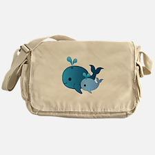 Baby Whale Messenger Bag