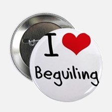 """I Love Beguiling 2.25"""" Button"""
