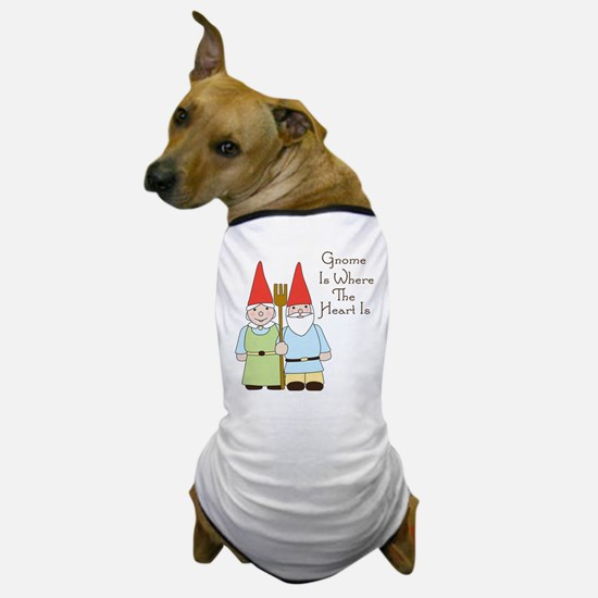 Where The Heart Is Dog T-Shirt