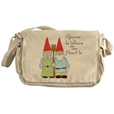 Where The Heart Is Messenger Bag