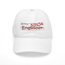 Job Ninja Engineer Baseball Baseball Cap