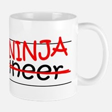 Job Ninja Engineer Small Mugs