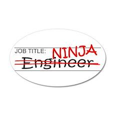 Job Ninja Engineer Wall Decal