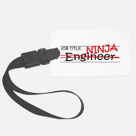 Job Ninja Engineer Luggage Tag