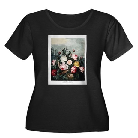 Roses Plus Size T-Shirt