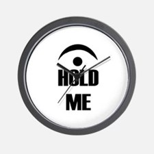 hold me Wall Clock