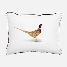 pheasant Rectangular Canvas Pillow