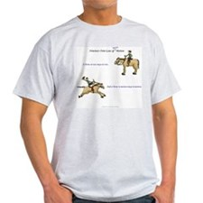 Newton's Horse Law Grey T-Shirt
