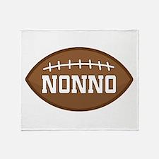 Nonno Football Throw Blanket