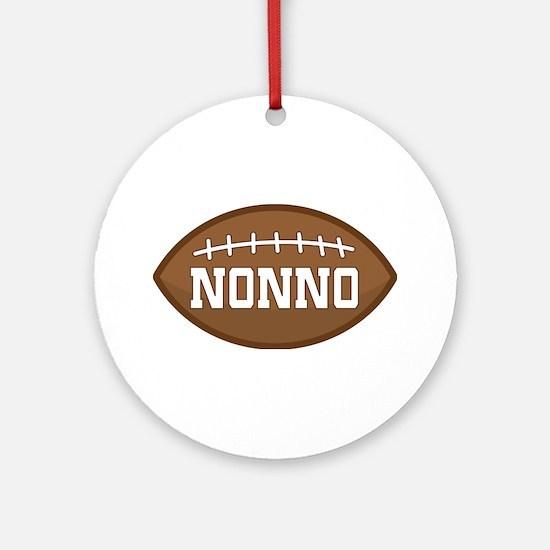 Nonno Football Ornament (Round)