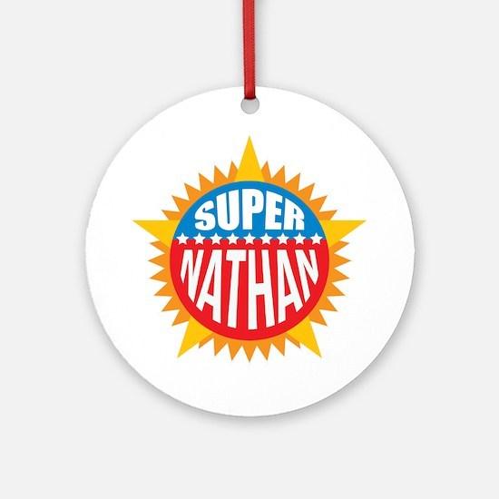 Super Nathan Ornament (Round)