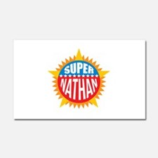 Super Nathan Car Magnet 20 x 12