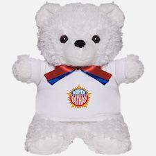 Super Nathan Teddy Bear