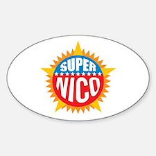 Super Nico Decal