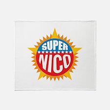 Super Nico Throw Blanket
