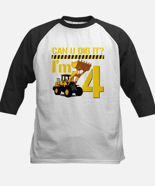 Can You Dig It? Im 4 Baseball Jersey