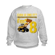 Can You Dig It? Im 8 Sweatshirt