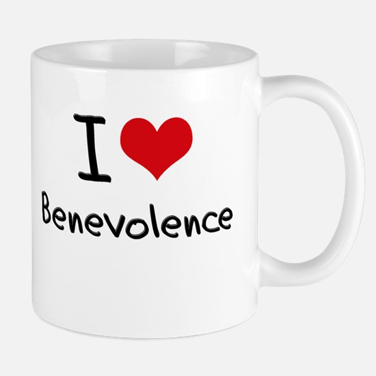 I Love Benevolence Mug