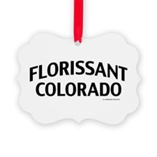 Florissant Colorado Ornament