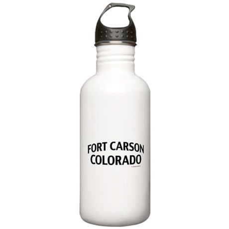 Fort Carson Colorado Water Bottle