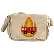 Fire Engine Messenger Bag