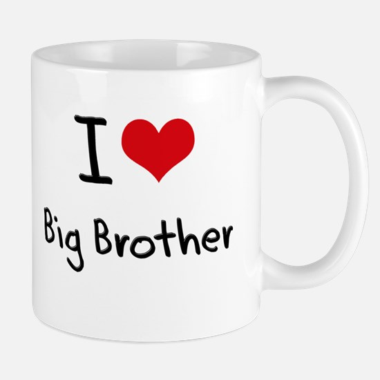 I Love Big Brother Mug