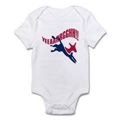 KICKING AND SCREAMING Infant Bodysuit