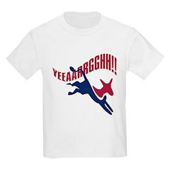 KICKING AND SCREAMING Kids T-Shirt