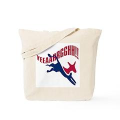 KICKING AND SCREAMING Tote Bag