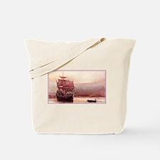 Mayflower in the Hudson Tote Bag