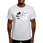 Vacation Style Ash Grey T-Shirt