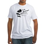 Vacation Style Fitted T-Shirt