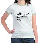 Vacation Style Jr. Ringer T-Shirt