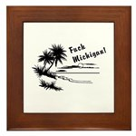 Vacation Style Framed Tile