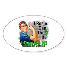 If Rosie Can Do It Lymphoma Decal