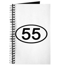 Number 55 Oval Journal