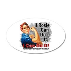 If Rosie Can Do It Parkinsons Wall Decal