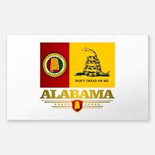Alabama Gadsden Flag Decal