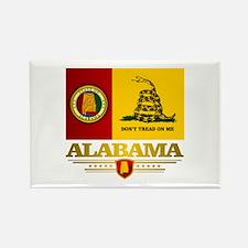 Alabama Gadsden Flag Rectangle Magnet