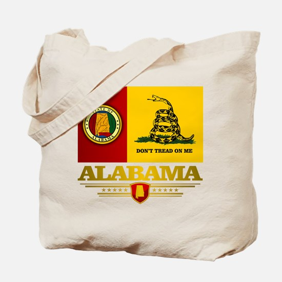 Alabama Gadsden Flag Tote Bag