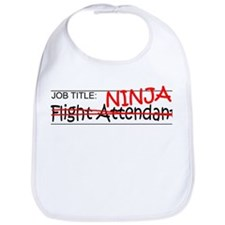 Job Ninja Flight Attendant Bib