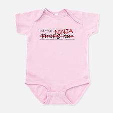 Job Ninja Firefighter Infant Bodysuit