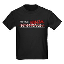 Job Ninja Firefighter T