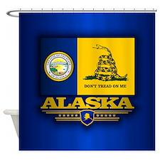 Alaska Seal-DTOM Shower Curtain