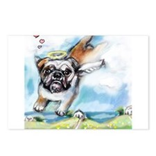 English Bulldog Angel Postcards (Package of 8)