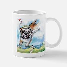 English Bulldog Angel Mug