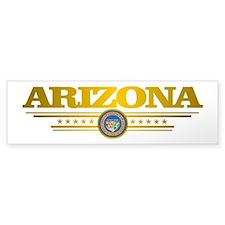 Arizona Gadsden Flag Bumper Bumper Sticker