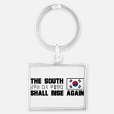 The south shall.png Keychains