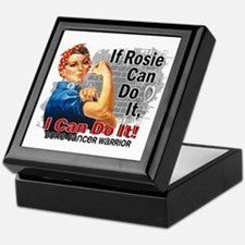 If Rosie Can Do It Bone Cancer Keepsake Box