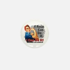 If Rosie Can Do It Bone Cancer Mini Button (10 pac